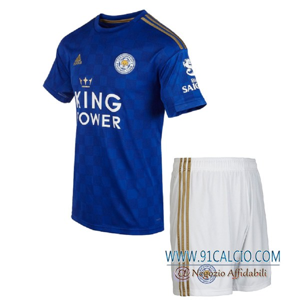 Maglia Calcio Leicester City Bambino Prima 2020 2021   91calcio