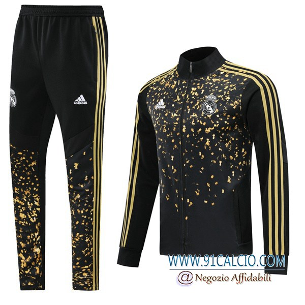 Tuta Calcio - Giacca Real Madrid Adidas × EA Sports™ FIFA 20 Nero 2019-2020 | 11calcio-it