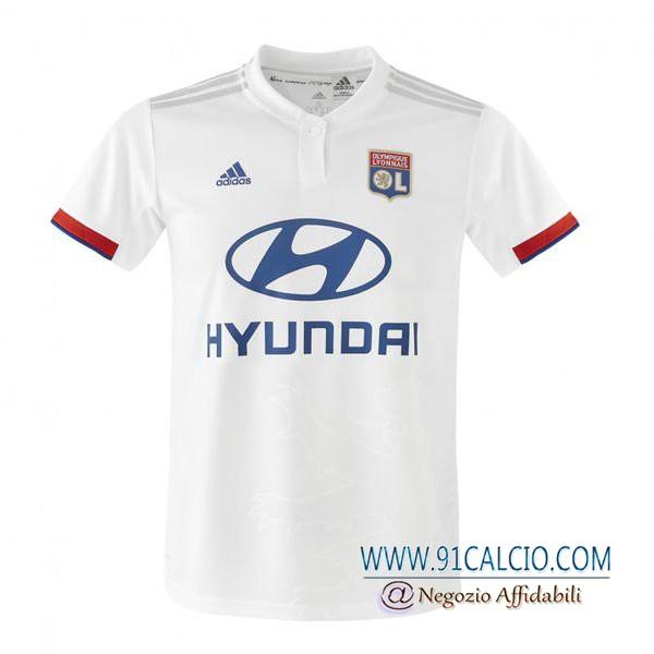 Maglia Calcio Lyon OL Prima 2019 2020   91calcio