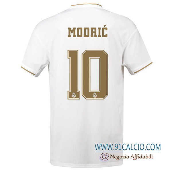 Maglie Calcio Real Madrid (MODRIC 10) Prima 2019 2020