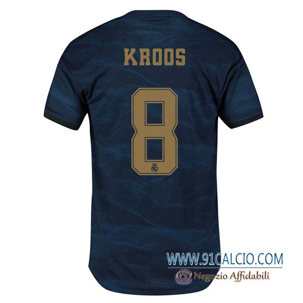 Maglie Calcio Real Madrid (KROOS 8) Seconda 2019 2020