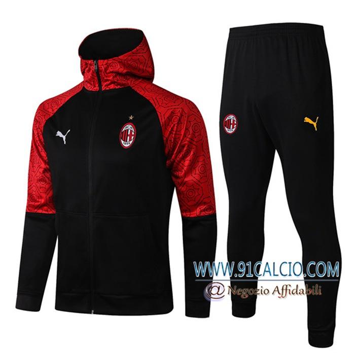 Sito Tuta Calcio - Giacca AC Milan Nero 2021/2022