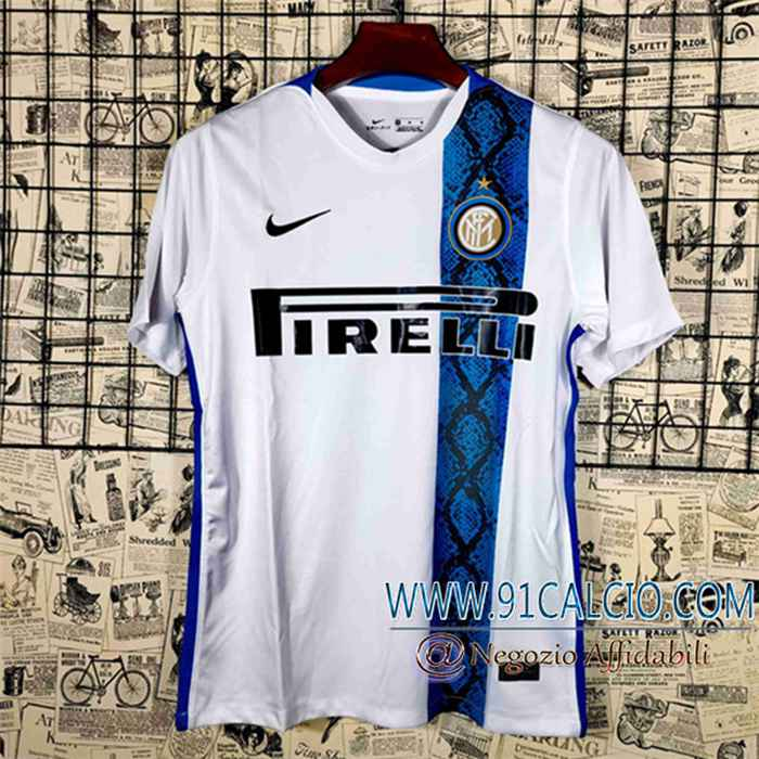 Nuova T Shirt Allenamento Inter Milan Bianca/Blu 2021/2022