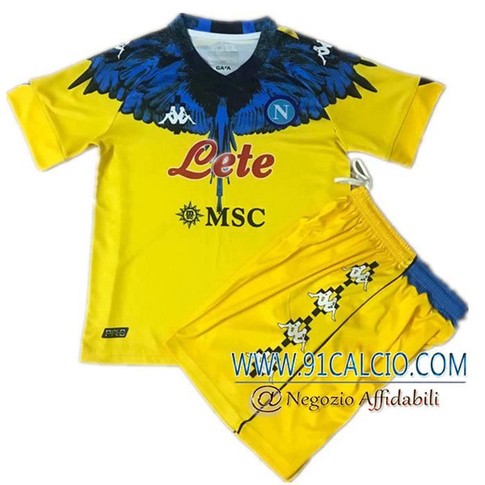 Comprare Maglia SSC Napoli Bambino Limited Edition Giallo 2021/2022
