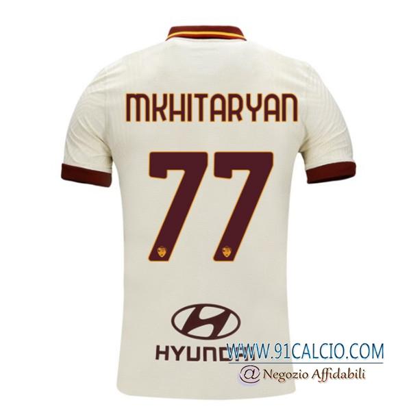 Maglie Calcio AS Roma (MKHITARYAN 77) Seconda 2020/2021   91calcio