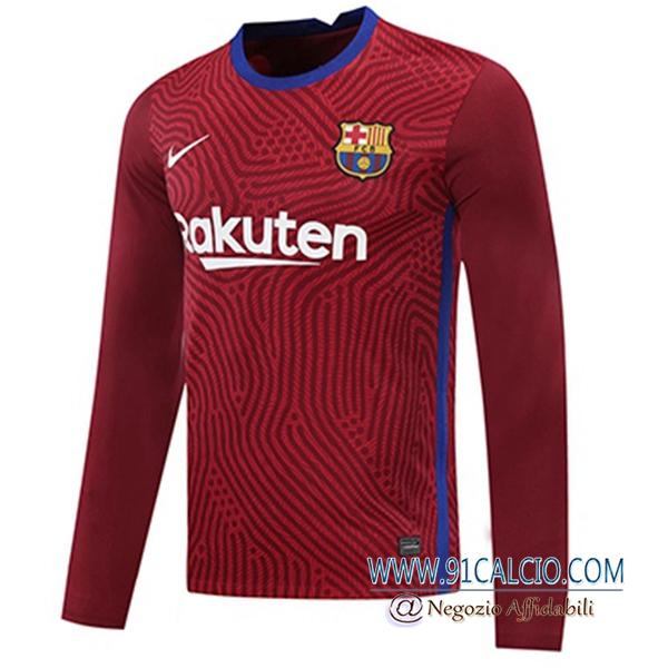 Maglie Calcio FC Barcellona Portiere Verde 2020/2021   91calcio