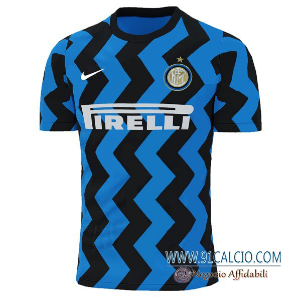 Maglia Calcio Inter Milan Prima Versione Trapelata 2020 2021 ...