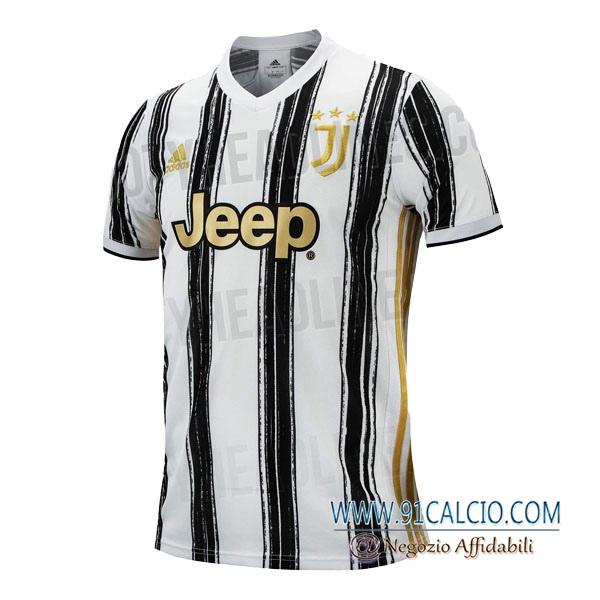 Maglia Calcio Juventus Versione trapelata Prima 2020 2021 | 91calcio