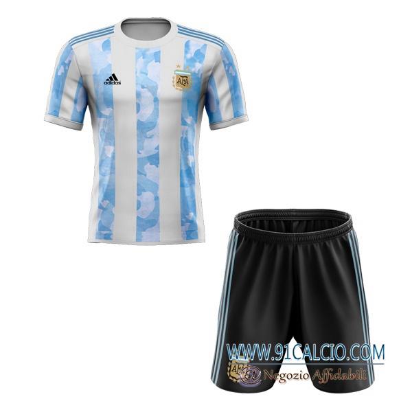 Maglia Calcio Argentina Bambino Prima 2020 2021 | 91calcio