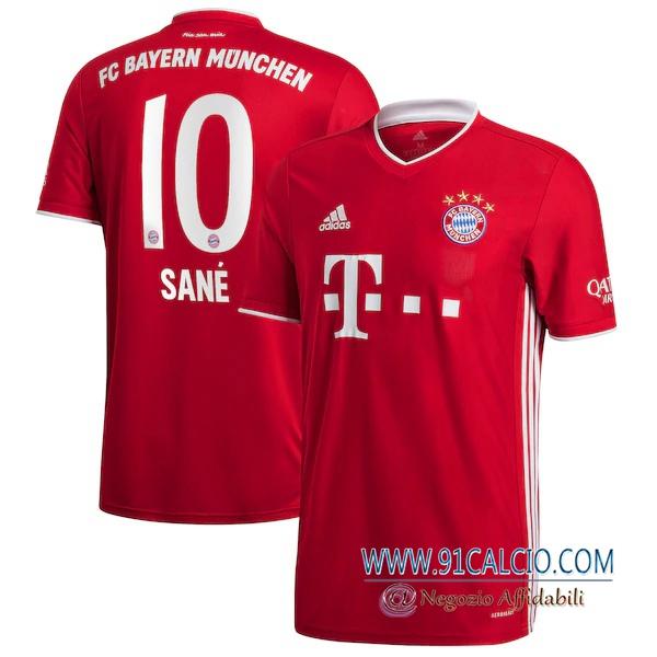 Maglia Calcio Bayern Monaco (San茅 10) Prima 2020 2021 | 91calcio