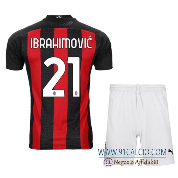 Maglia AC Milan Bambino | Affidabili Thailandia | 91calcio