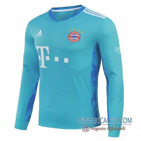 Maglia Calcio Bayern Monaco Portiere Manche longue 2020 2021 ...